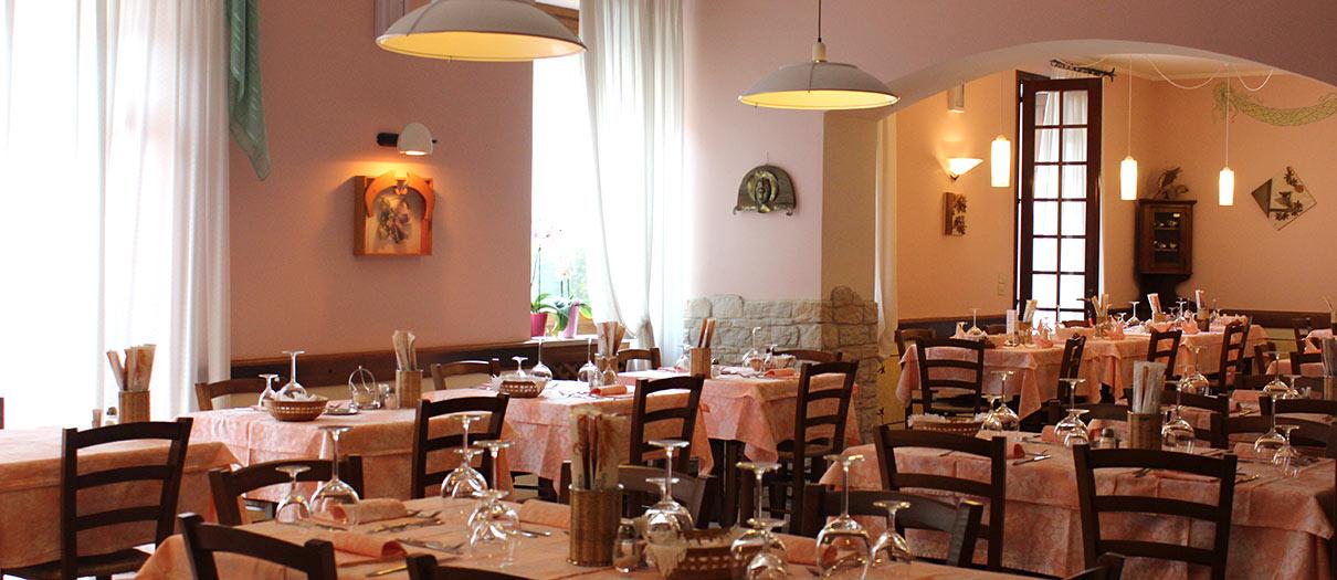 sala ristorante Al Castello Recoaro